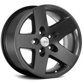 MR1X MATTE BLACK RIM from MAMBA OFFROAD WHEELS