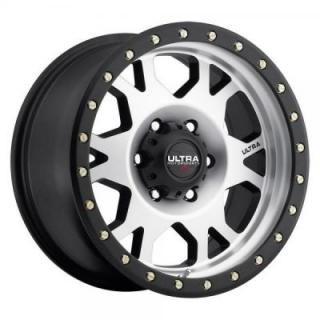ULTRA WHEELS  XTREME X102 X-LOK SATIN BLACK RIM with MACHINED FACE