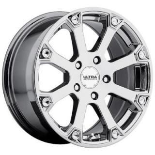 SPLINE 245 BRIGHT PVD CHROME RIM from ULTRA WHEELS