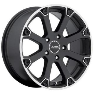 ULTRA WHEELS  SPLINE 245 MATTE BLACK RIM