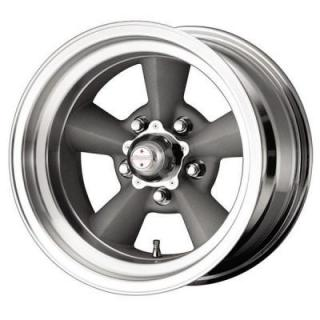 SPECIAL BUY WHEELS  AMERICAN RACING VN309 TORQ THRUST SILVER/MACHINED PPT
