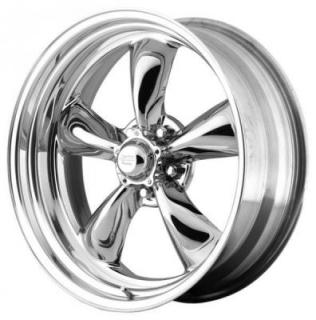 SPECIAL BUY WHEELS  AMERICAN RACING VN815 TORQ THRUST II 1 PC BRIGHT PVD PPT