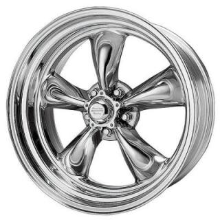 SPECIAL BUY WHEELS  AMERICAN RACING VN515 TORQ THRUST II 1 PC POLISHED RIM PPT