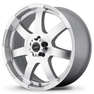SPECIAL BUY WHEELS  AMERICAN RACING AR899 SILVER RIM with MACHINED FACE PPT