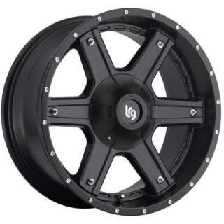 LRG WHEELS  LRG 101 MATTE BLACK RIM