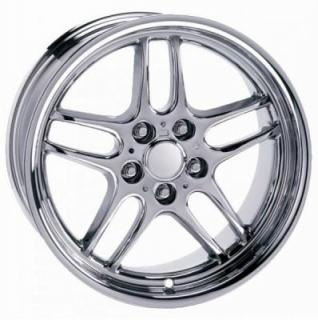 FACTORY REPRODUCTIONS WHEELS  BMW PARALLEL CHROME RIM