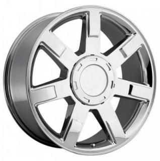 FACTORY REPRODUCTIONS WHEELS  CADILLAC ESCALADE STYLE 36 CHROME RIM