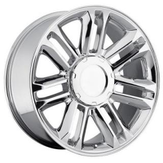 FACTORY REPRODUCTIONS WHEELS  CADILLAC ESCALADE PLATINUM CHROME RIM