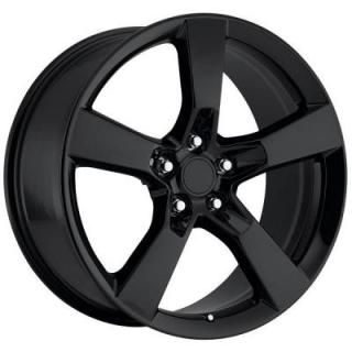 FACTORY REPRODUCTIONS WHEELS  CHEVY CAMARO 2010 STYLE 30 GLOSS BLACK RIM