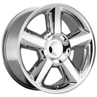 FACTORY REPRODUCTIONS WHEELS  CHEVY TAHOE 2007 STYLE 31 CHROME RIM