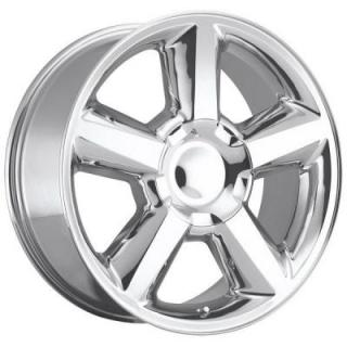 CHEVY TAHOE 2007 STYLE 31 POLISHED RIM from FACTORY REPRODUCTIONS WHEELS