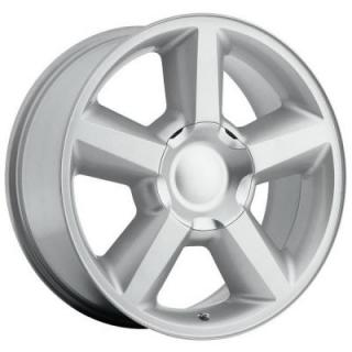 FACTORY REPRODUCTIONS WHEELS  CHEVY TAHOE 2007 STYLE 31 SILVER RIM