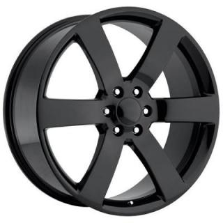 FACTORY REPRODUCTIONS WHEELS  CHEVY TRAILBLAZER SS GLOSS BLACK RIM