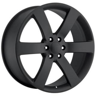 FACTORY REPRODUCTIONS WHEELS  CHEVY TRAILBLAZER SS STYLE 32 SATIN BLACK RIM