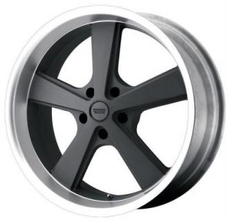 SPECIAL BUY WHEELS  AMERICAN RACING VN701 NOVA MAG GRAY RIM with MACHINED LIP PPT