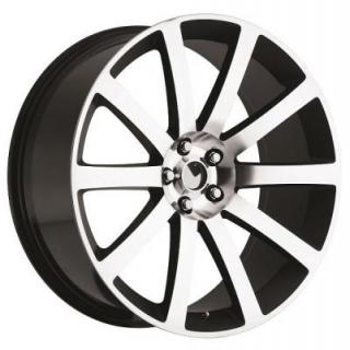 FACTORY REPRODUCTIONS WHEELS  CHRYSLER 300 MACHINED and BLACK RIM
