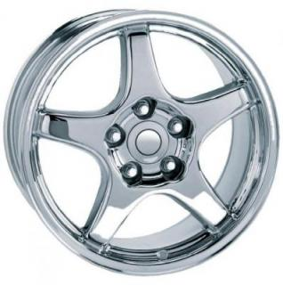 CORVETTE C4 ZR1 STYLE 21 CHROME RIM from FACTORY REPRODUCTIONS WHEELS
