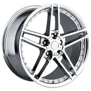 FACTORY REPRODUCTIONS WHEELS  CORVETTE C6 MOTORSPORT Z06 CHROME RIM