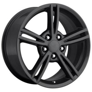 FACTORY REPRODUCTIONS WHEELS  CORVETTE C6 2008 GREY RIM