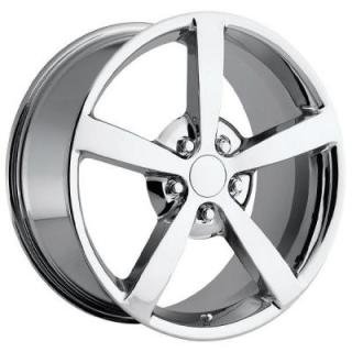 FACTORY REPRODUCTIONS WHEELS  CORVETTE C6 2009 CHROME RIM