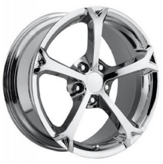 FACTORY REPRODUCTIONS WHEELS  CORVETTE C6 GRAND SPORT 2010 CHROME RIM