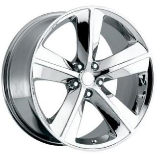 FACTORY REPRODUCTIONS WHEELS  DODGE CHALLENGER SRT8 STYLE 62 CHROME RIM