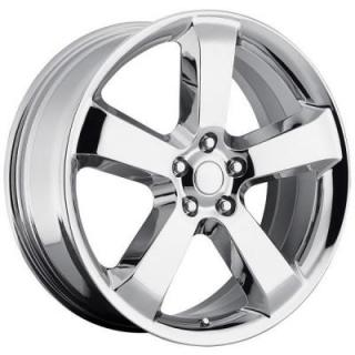 FACTORY REPRODUCTIONS WHEELS  DODGE CHARGER SRT8 STYLE 61 CHROME RIM