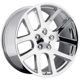 FACTORY REPRODUCTIONS WHEELS  DODGE RAM SRT10 STYLE 60 CHROME RIM