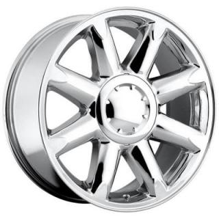 FACTORY REPRODUCTIONS WHEELS  GMC DENALI STYLE 38 CHROME RIM