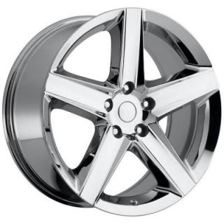 FACTORY REPRODUCTIONS WHEELS  JEEP SRT8 STYLE 63 CHROME RIM