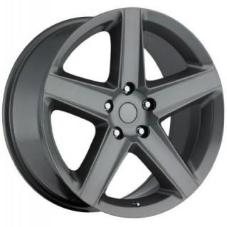 FACTORY REPRODUCTIONS WHEELS  JEEP SRT8 STYLE 63 COMP GREY RIM