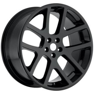 FACTORY REPRODUCTIONS WHEELS  DODGE VIPER GLOSS BLACK RIM