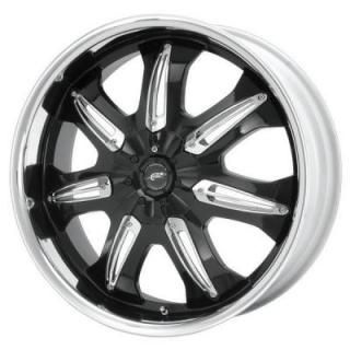 DALE EARNHARDT JR DJ381 BLACK MACHINED PPT from SPECIAL BUY WHEELS
