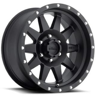 METHOD WHEELS  MR301 STANDARD BLACK PAINTED RIM