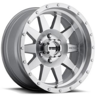 STREET MR301 THE STANDARD MACHINED RIM with CLEAR COAT by METHOD RACE WHEELS