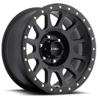 METHOD WHEELS  MR305 NV MATTE BLACK RIM