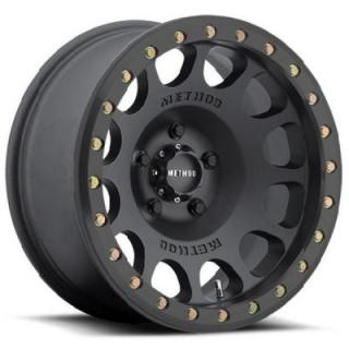 METHOD RACE WHEELS  RACE MR105 BEADLOCK MATTE BLACK RIM