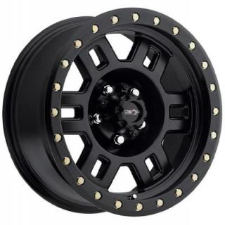 VISION WHEELS  MANX 398 RWD OFF-ROAD MATTE BLACK
