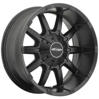 10 GAUGE SERIES 5050 SATIN BLACK RIM by PRO COMP ALLOYS WHEELS