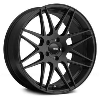 INTEGRAM MATTE BLACK from KONIG WHEELS