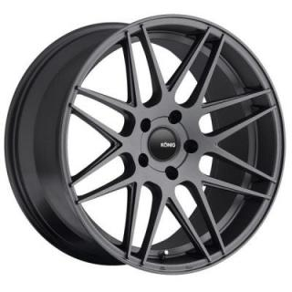 INTEGRAM MATTE GRAPHITE from KONIG WHEELS