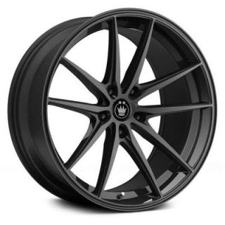 OVERSTEER GLOSS BLACK RIM from KONIG WHEELS