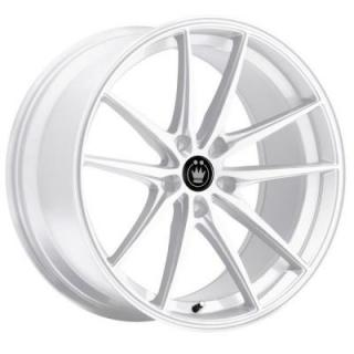 OVERSTEER GLOSS WHITE from KONIG WHEELS