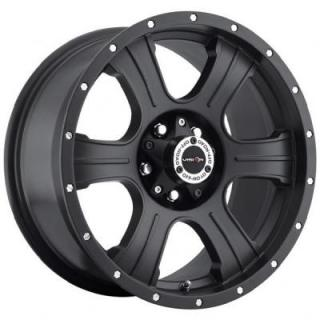 V-TEC WHEELS  ASSASSIN 396 RWD MATTE BLACK RIM