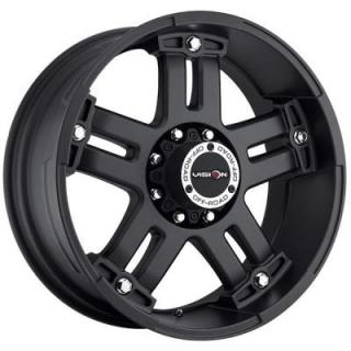 WARLORD 394 RWD MATTE BLACK RIM from V-TEC WHEELS