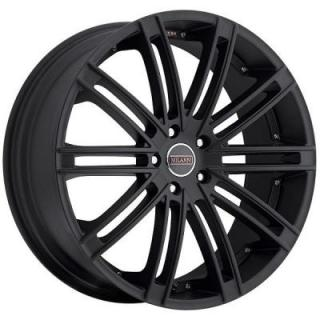 MILANNI WHEELS  KAHN 9032 FWD SATIN BLACK RIM