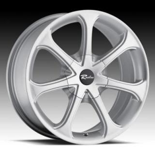 SPECIAL BUY WHEELS  RACELINE 197 SILVER RIM PPT
