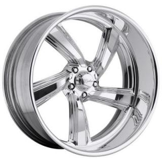 RACELINE WHEELS  EXPLOSION 5 POLISHED RIM