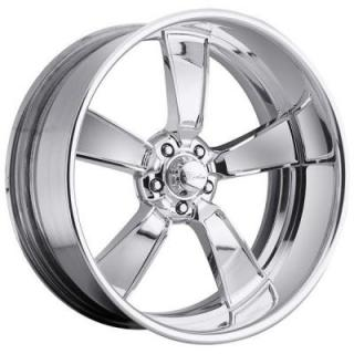RACELINE WHEELS  BURST 5 POLISHED RIM