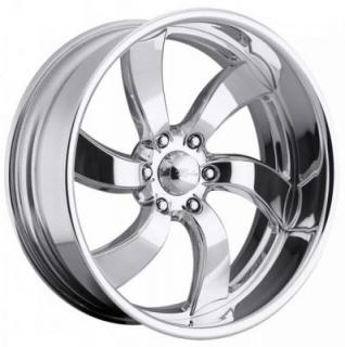 RACELINE WHEELS   DECEPTIVE 6 POLISHED RIM